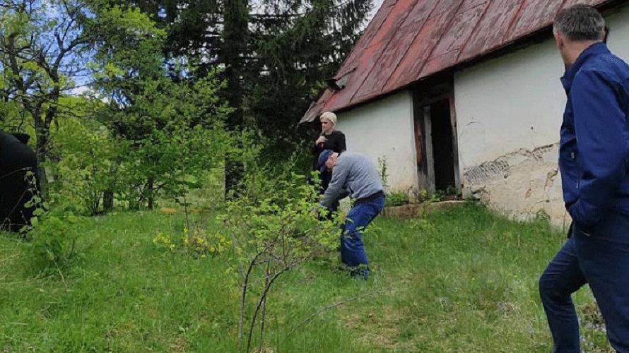 Pri kraju snimanje dokumentarnog filma o stradanju Srba u selu Ledići 1992. godine