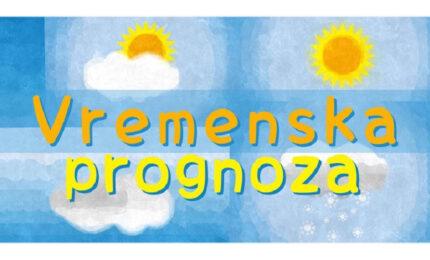 I sutra veoma toplo, lokalni pljuskovi na zapadu i sjeverozapadu