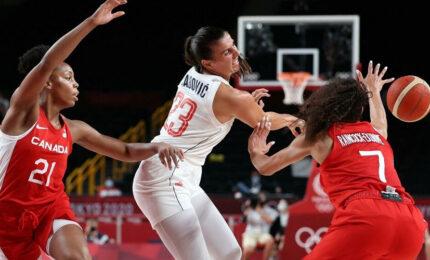 Ženska košarkaška reprezentacija Srbije savladala Kanadu na Olimpijskim igrama