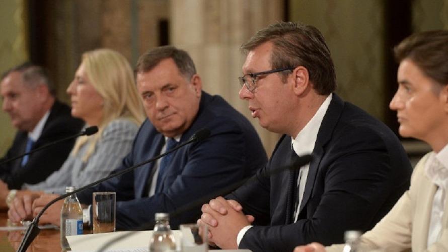 """Dodik: Sa Vučićem o dešavanjima u BiH i pridruženju Srpske """"otvorenom Balkanu"""""""