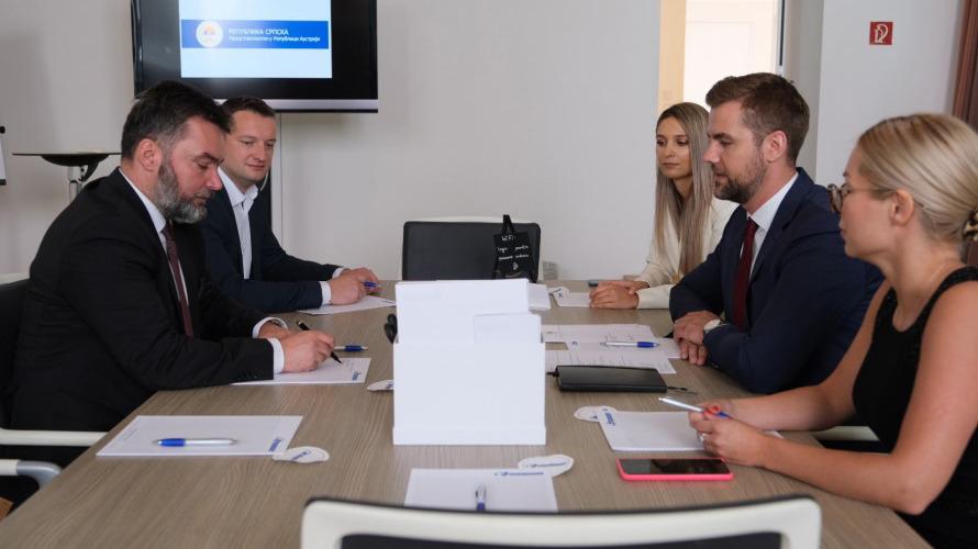 Ministar pohvalio aktivnosti Predstavništva Srpke u Beču