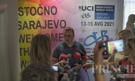 Ćosić: Svjetsko biciklističko prvenstvo događaj decenije u gradu Istočno Sarajevo