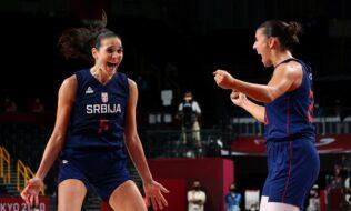 Ženska košarkaška reprezentacija Srbije u finalu
