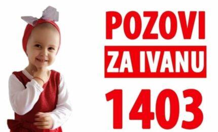 Od danas aktivan humanitarni broj za Ivanu Bjelogrlić