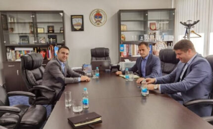 Vd direktora TO Jahorina u posjeti opštini Istočno Novo Sarajevo