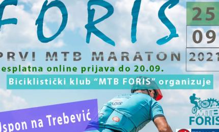 Sutra u Istočnom Sarajevu prvi MTB MARATON FORIS 2021