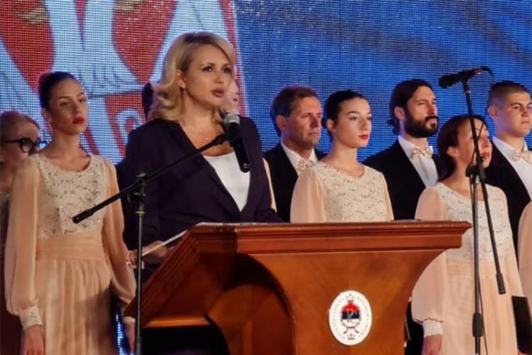 Kisić-Tepavčević: Srpski narod je nedeljiv i niko neće srušiti njegovo jedinstvo