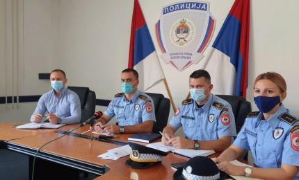PU Istočno Sarajevo: U avgustu 39 krivičnih djela