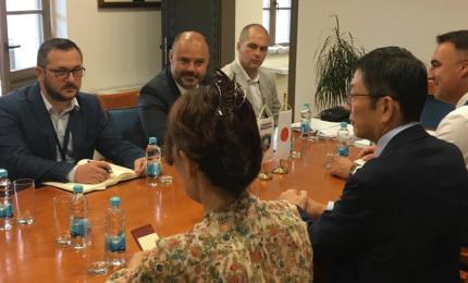 Razmotrene mogućnosti saradnje Višegrada i Japan