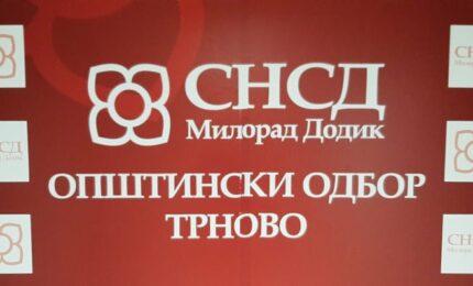 Opštinski odbor SNSD-a Trnovo brojniji za 25 članova